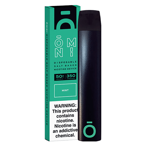 Mint Disposable Vape Device by Omni