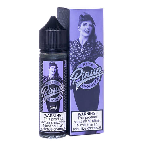 Rita by Pinup Evolution Vapors Vape Juice 0mg