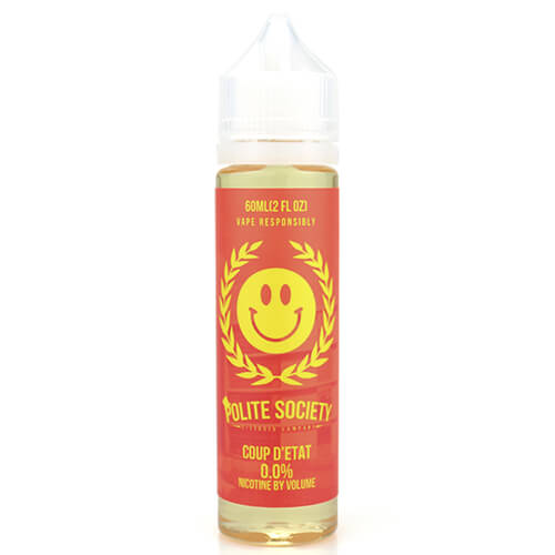 Coup d'etat by Polite Society E-Liquid