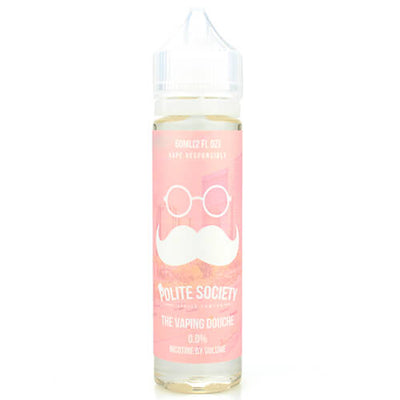 The Vaping Douche by Polite Society E-Liquid-eLiquid-Polite Society-60ml-0mg-eLiquid.com