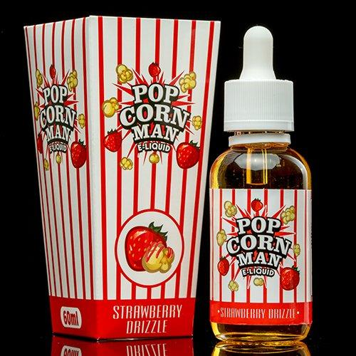 Strawberry Drizzle by Popcorn Man E-Liquid