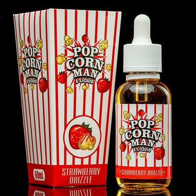 Strawberry Drizzle by Popcorn Man E-Liquid-eLiquid-Popcorn Man Liquids-eLiquid.com