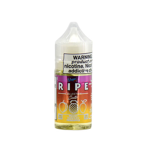 Peachy Mango Pineapple on Ice by Ripe Collection on Ice by Vape 100 Nic Salts