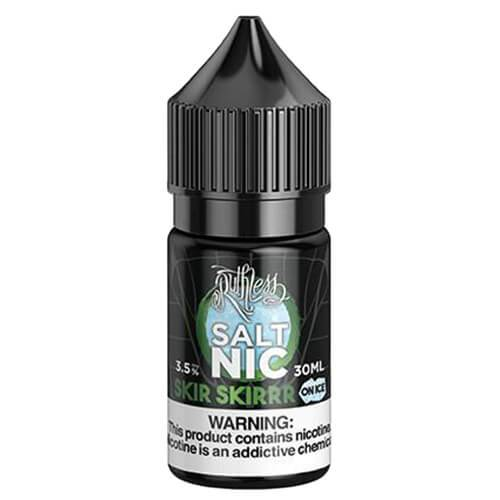 Skir Skirr on Ice Nicotine Salt Eliquid by Ruthless Nicotine Salt
