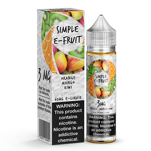 Orange Mango Kiwi by Simple E-Fruit
