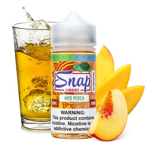 """The Remix"" Mad Peach by Snap Liquids"