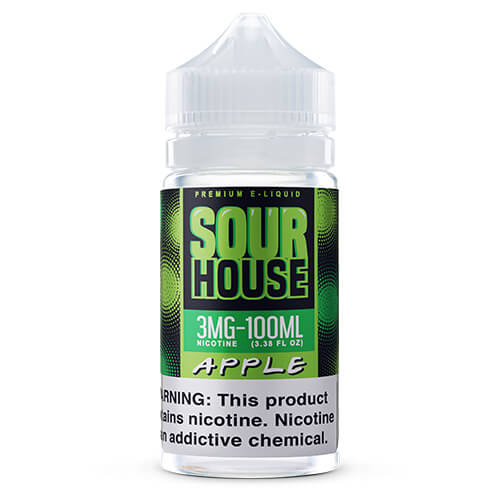 Sour Apple by Sour House by The Neighborhood Vape Juice 0mg
