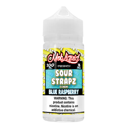 Blue Raspberry by Sour Strapz eLiquid