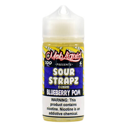 Blue Pomegranate by Sour Strapz eLiquid
