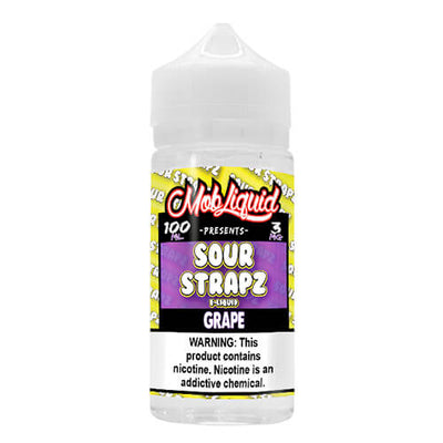 Grape by Sour Strapz eLiquid-eLiquid-Sour Strapz eLiquid-100ml-0mg-eLiquid.com