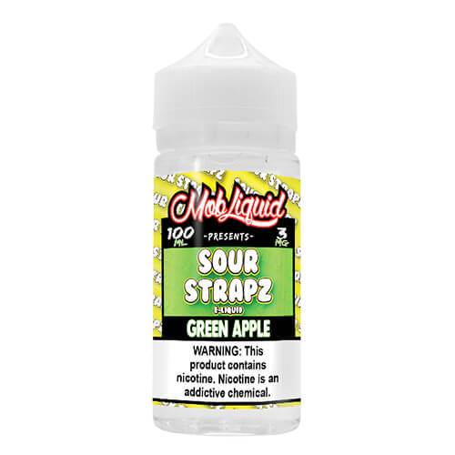 Green Apple by Sour Strapz eLiquid