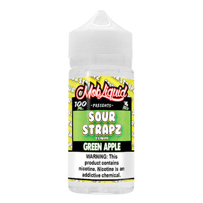 Green Apple by Sour Strapz eLiquid-eLiquid-Sour Strapz eLiquid-100ml-0mg-eLiquid.com