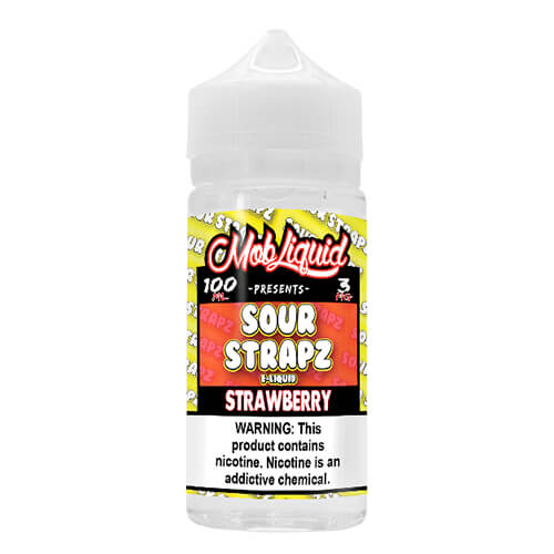 Strawberry by Sour Strapz eLiquid