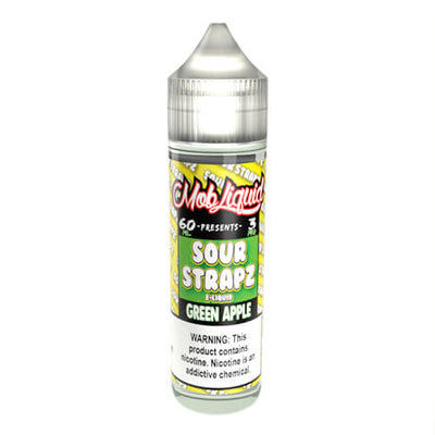 Green Apple by Sour Strapz eLiquid-eLiquid-Sour Strapz eLiquid-60ml-0mg-eLiquid.com