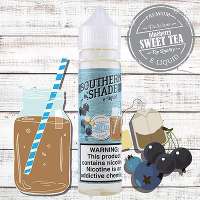 Blueberry Sweet Tea by Southern Shade eJuice-eLiquid-Southern Shade-eLiquid.com