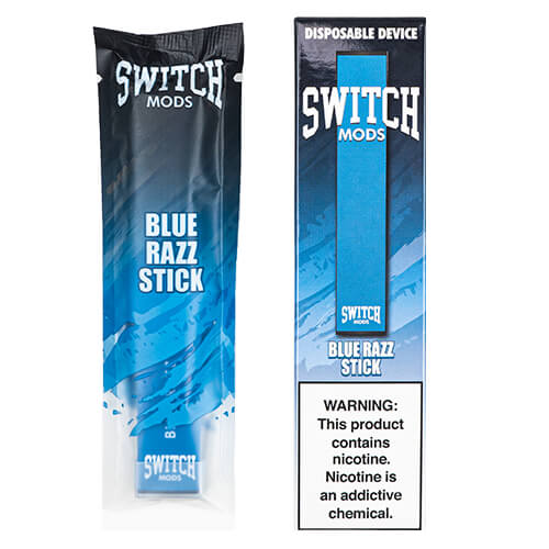 Switch Mods - Disposable Vape Device - Blue Razz