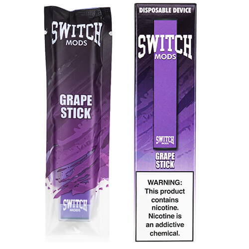 Switch Mods - Disposable Vape Device - Grape
