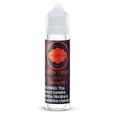 Neon Cream by The Lost Fog Collection eJuice-eLiquid-The Lost Fog-60ml-6mg-eLiquid.com