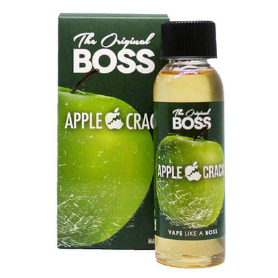 Apple Crack by The Original Boss eJuice-eLiquid-The Original Boss-60ml-0mg-eLiquid.com