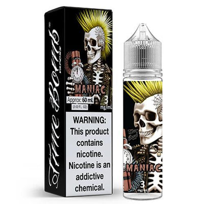 Maniac by Time Bomb Vapors-eLiquid-Time Bomb Vapors-60ml-0mg-eLiquid.com