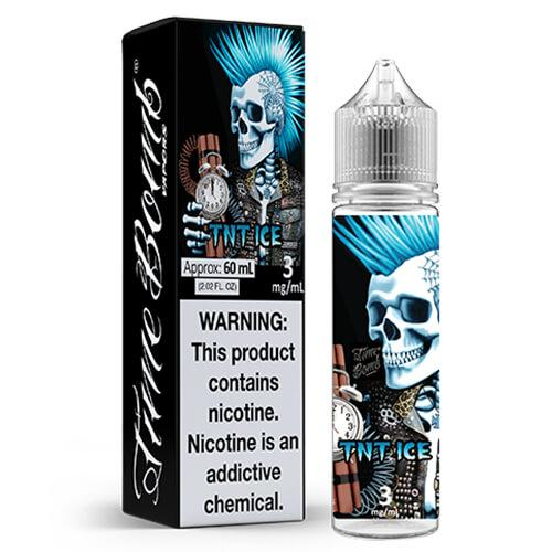 TNT Ice by Time Bomb Vapors Vape Juice 0mg