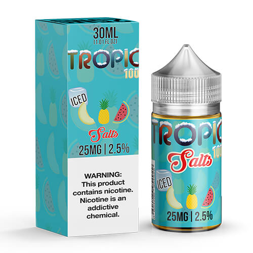 Tropic 100 Ice by Tropic 100 by Tailored Vapors SALTS
