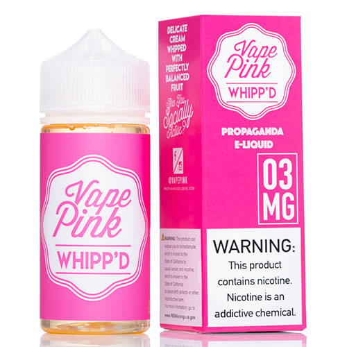 Whipp'd by Vape Pink E-Liquid