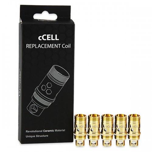 Vaporesso Ceramic cCell Kanthal Coil 0.9ohm (5 Pack)