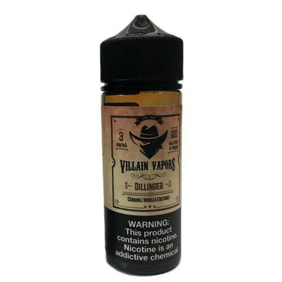 Dillinger by Villain Vapors-eLiquid-Villain Vapors-120ml-0mg-eLiquid.com