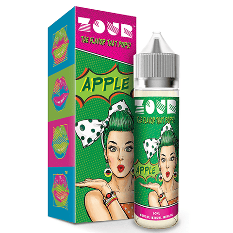 Apple by ZOUR - All the best eLiquid flavors - eLiquid.com