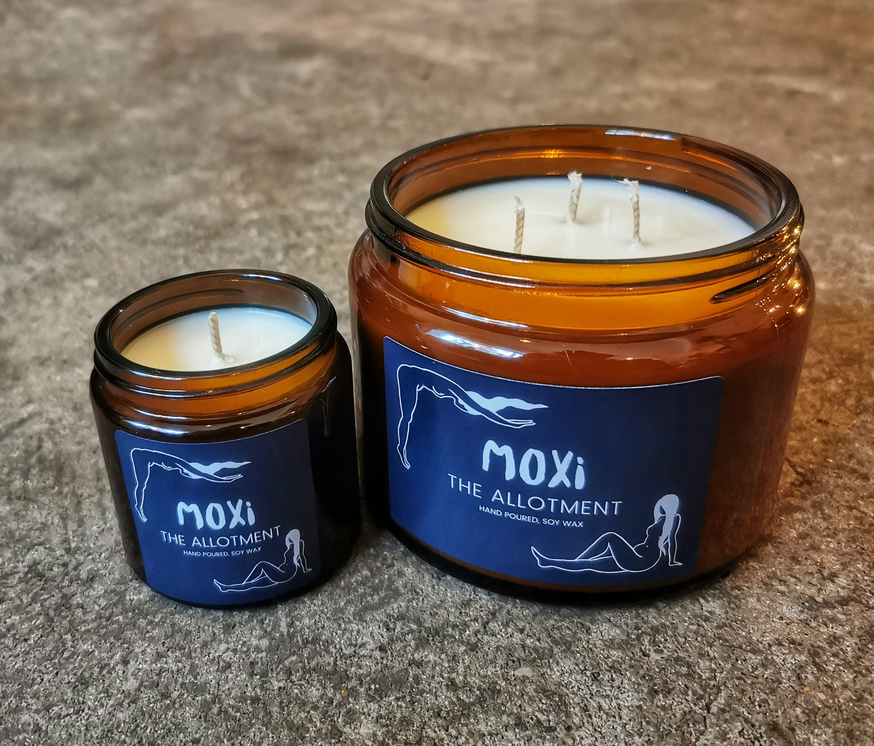 Moxi Scented Candle - The Allotment