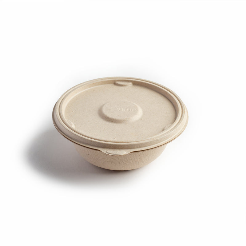 Premium Compostable 16oz/500ml Small Bowl