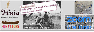 ZOOM to New Zealand for Our Next Virtual Wine Tasting Friday, June 19th, 6 pm