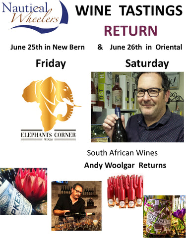 Don't miss this Tasting with Andy Woolgar, Elephants Corner Wines