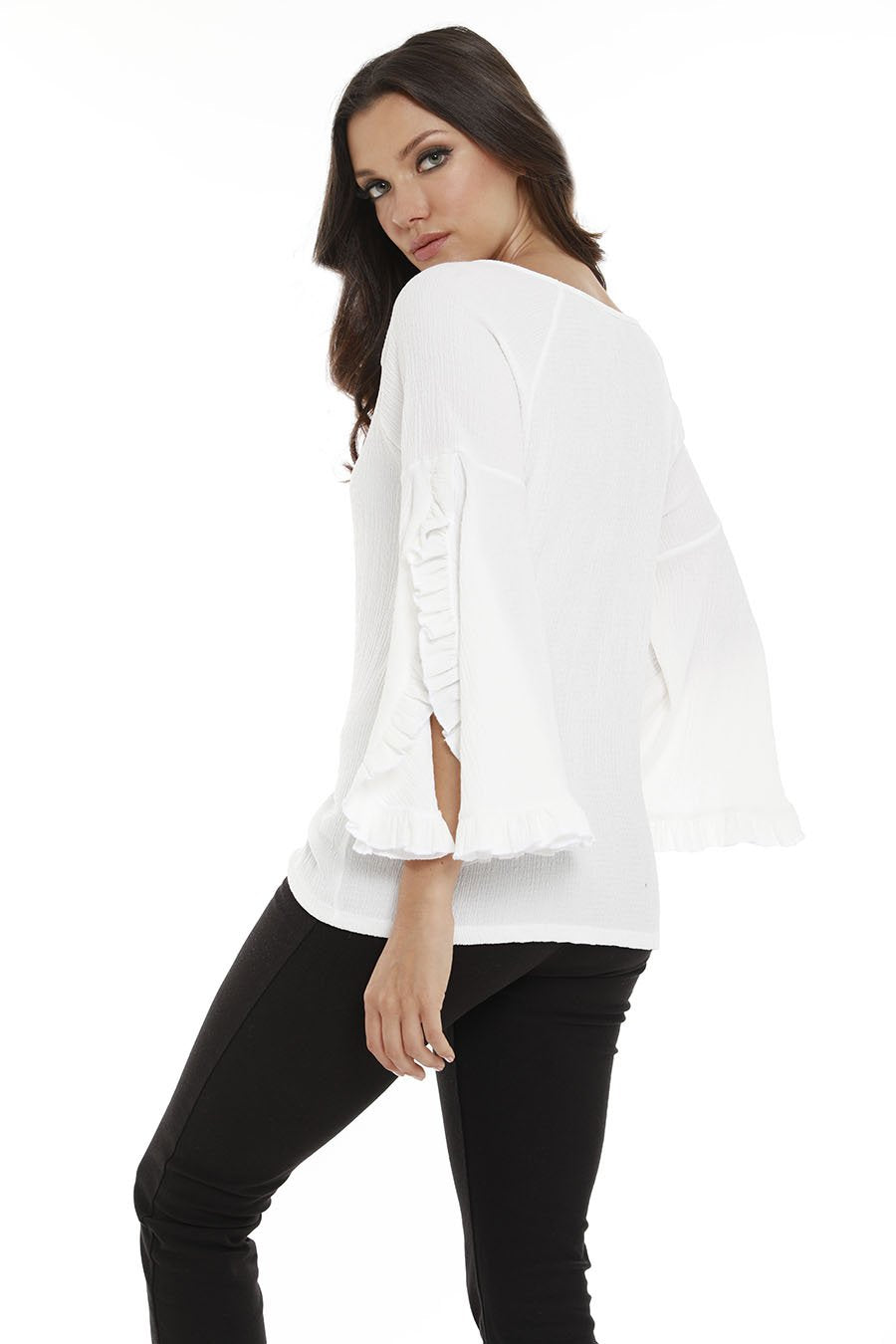 French Kyss Ruffle Top
