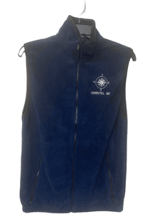 Fleece Vest Compass Rose