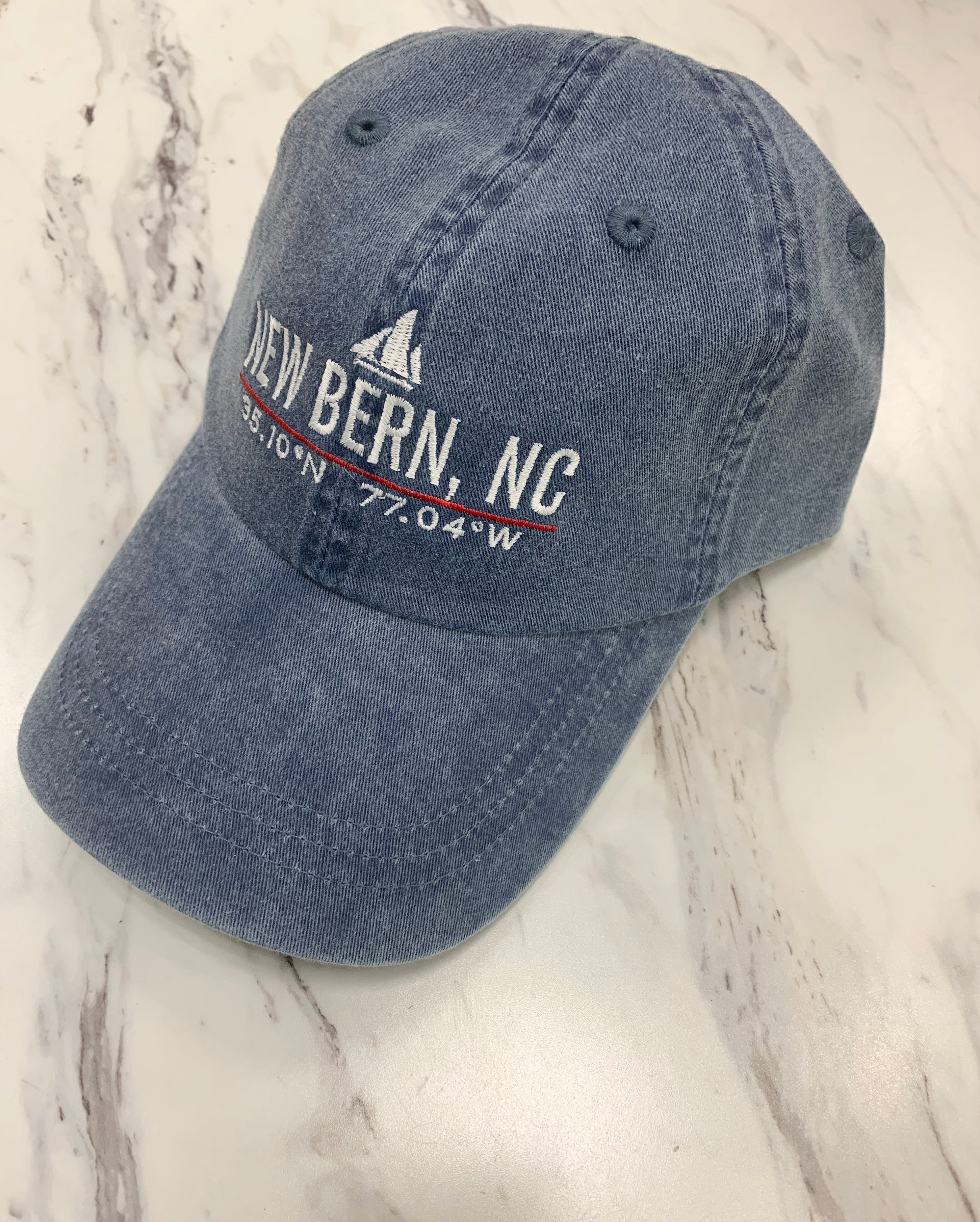 StraightUp Sailboat New Bern Ball Cap