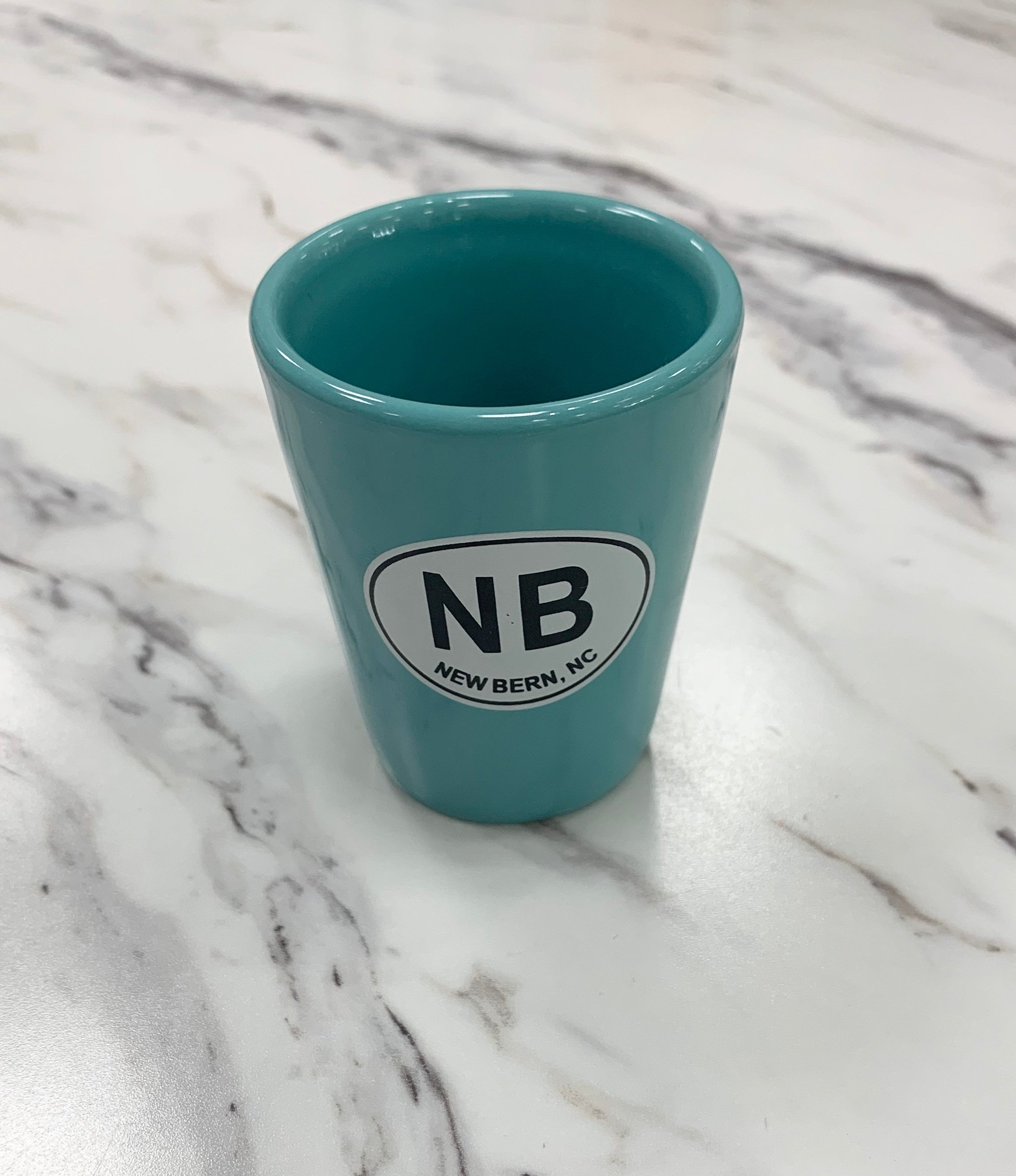 New Bern Ceramic Shot Glass