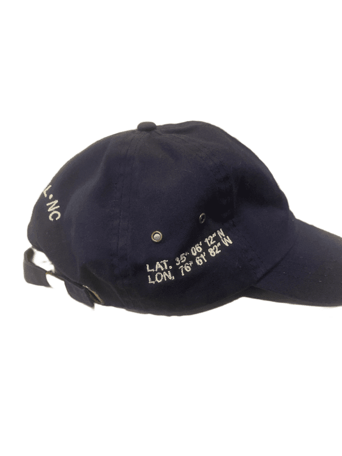 Latitude Longitude Compass Ball Cap