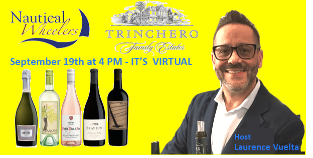 TRINCHERO Family Estates Tasting 5 Pack, Saturday, September 19th at 4pm and Zoom Invitation