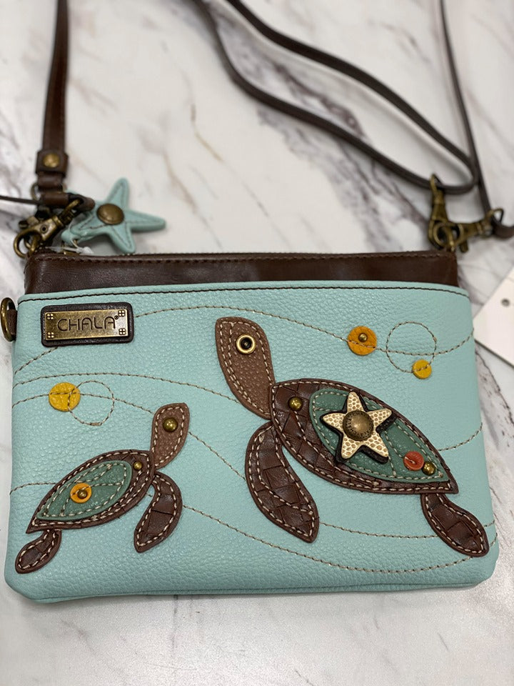 Chala Mini Crossbody Turtle