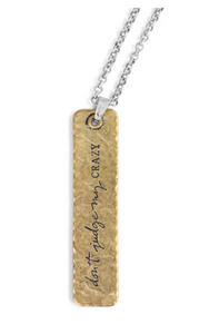 She Inspires Pendant - My Crazy