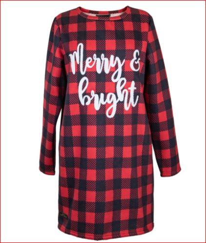 Simply Southern Nightgown Merry & Bright
