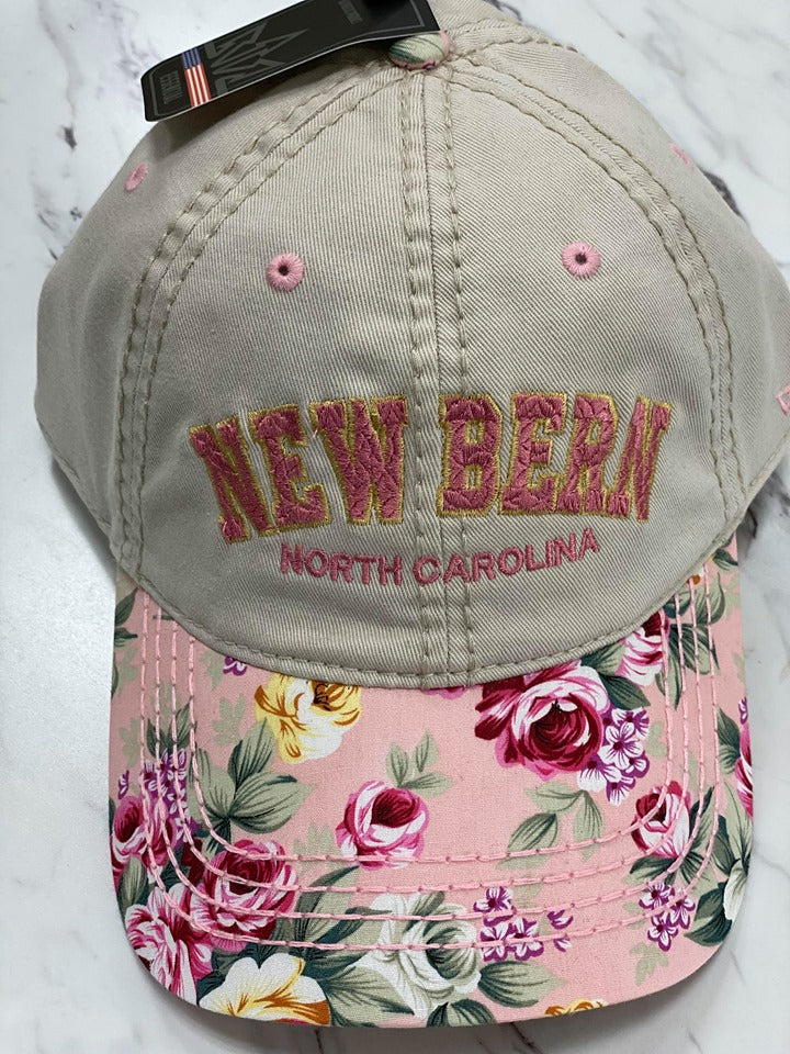 New Bern Floral Hat