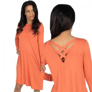 Simply Southern Crossback Dress