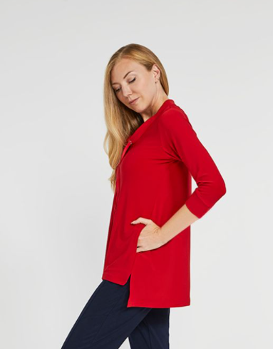 Sympli Halo Sweatshirt - Poppy