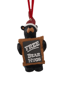 Free Bear Hugs Ornament