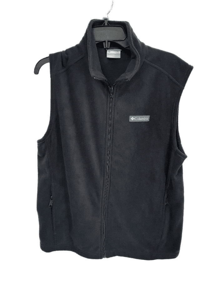 Columbia Steens Mountain Vest Charcoal - Black - Tusk/Buffalo