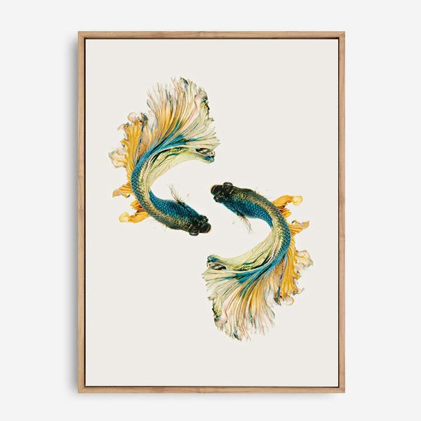 FISHES CANVAS