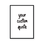 CUSTOM QUOTE II